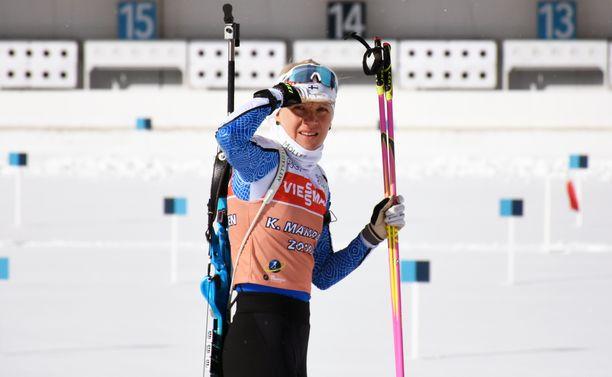 Kaisa Mäkäräinen aloittaa MM-kisaurakkansa torstaina Antholzissa.