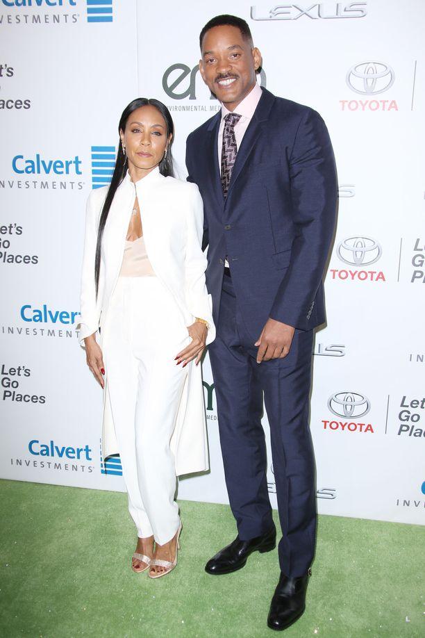 Näyttelijät Will Smith ja Jada Pinkett Smith ovat olleet naimisissa vuodesta 1997 lähtien.