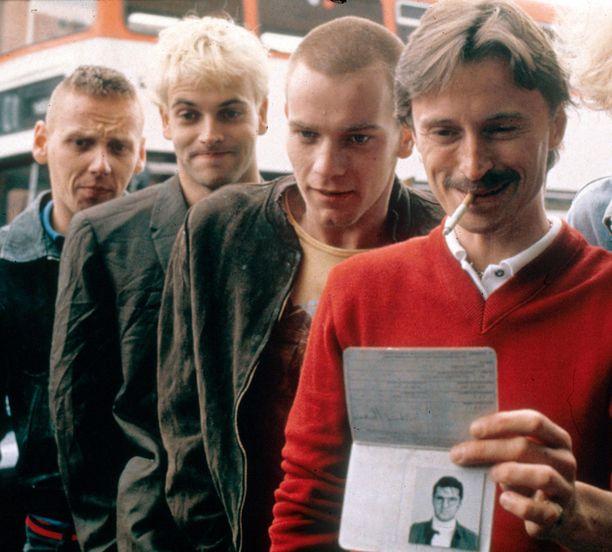 Spud, Sick Boy, Renton ja Begbie hurmasivat vuonna 1996. Ensi vuonna Trainspotting-nelikko palaa valkokankaalle.