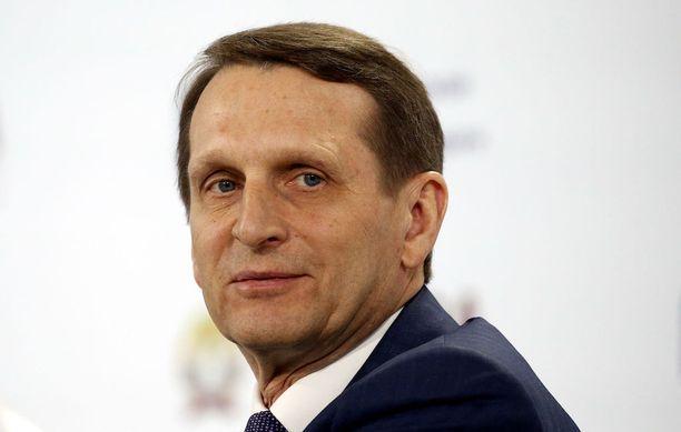 SVR:n päällikön Sergei Naryshkinin mukaan USA:n toiminta ansaitsee yhtä paljon arvostelua kuin Pohjois-Korean.
