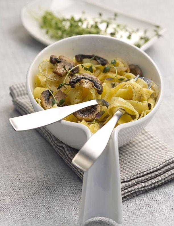 Yksinkertainen pasta on liki puhdistava elämys joulupöydän runsauden jälkeen.