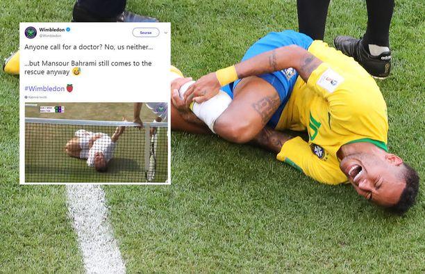 Neymarin suurieleisistä reaktioista tuli maailmanlaajuinen puheenaihe.