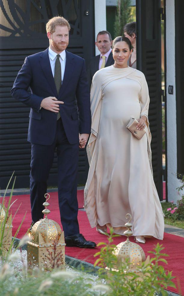 Herttuapari on kolmen päivän vierailulla Marokossa.