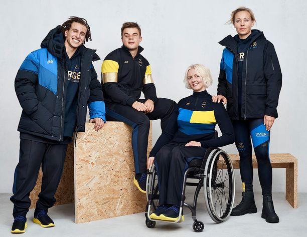 Tältä Ruotsin olympiajoukkueen tyyli näyttää.