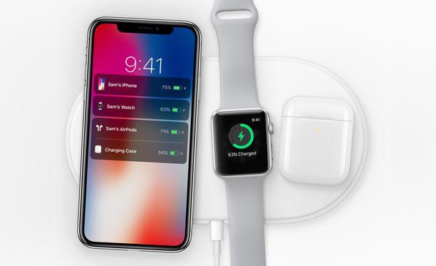 Apple esitteli latausalustaa vuonna 2017.