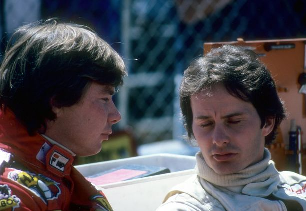 Didier Pironi ja Gilles Villeneuve riitaantuivat verisesti.