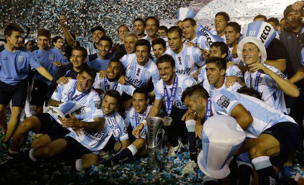 Racing on Argentiinan tuore mestari.
