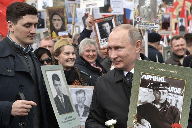 Venäjällä vietetään voitonpäivää 72. kertaa.