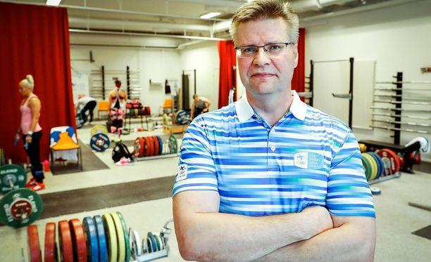 Valmentaja Mika Tiainen