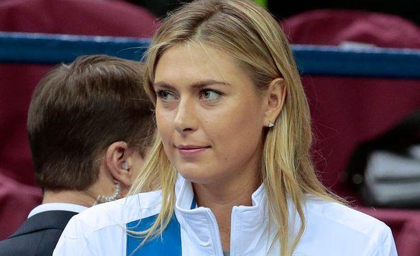 Maria Sharapova kärysi meldoniumista Australian avoimessa tennisturnauksessa.