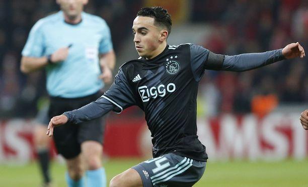 Abdelhak Nouri on Ajaxin nuoria pelaajia. Arkistokuva.
