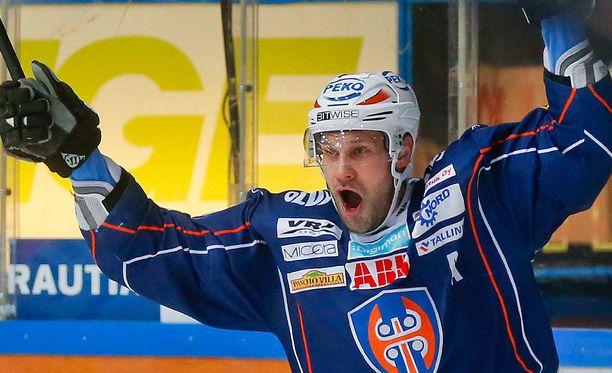 Markus Kankaanperä huilaa kolme ottelua.