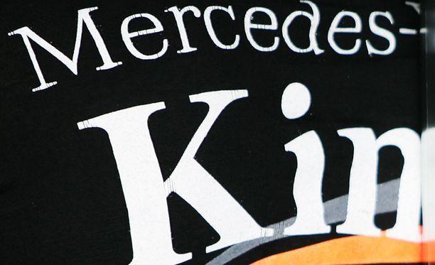 Mercedes ja Kimi Räikkönen ovat liitetty huhuissa yhteen.