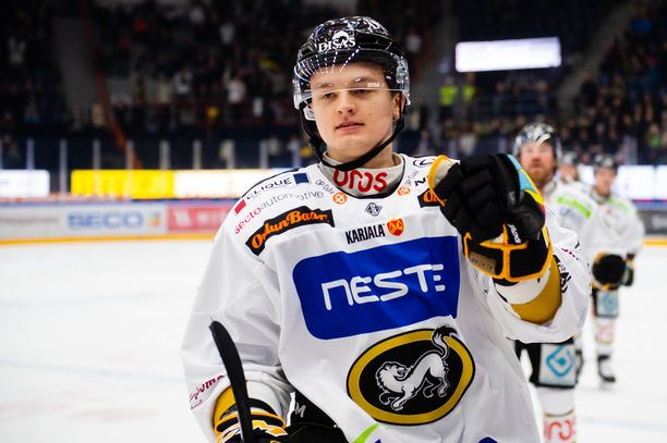 Teemu Kivihalme ei pelaa illan ottelussa HIFK:ta vastaan.