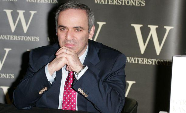 Garri Kasparov arvosteli haastattelussa kovin sanoin Venäjän presidenttiä.