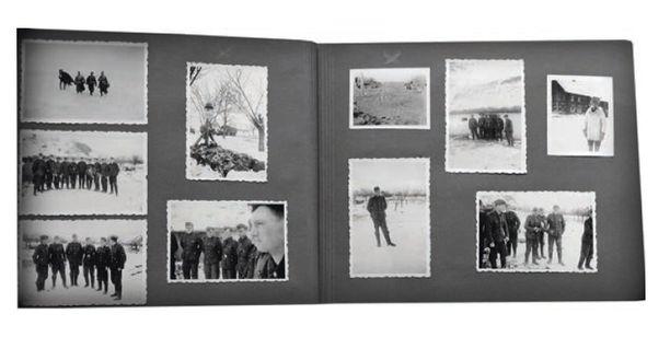 Suomalaisen SS-miehen Herkko Kososen ottamia valokuvia rintamalta.