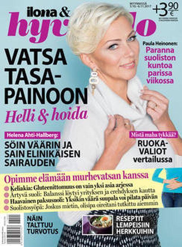 Ilona & Hyvä olo -erikoilehti nyt kaupoissa myynnissä.