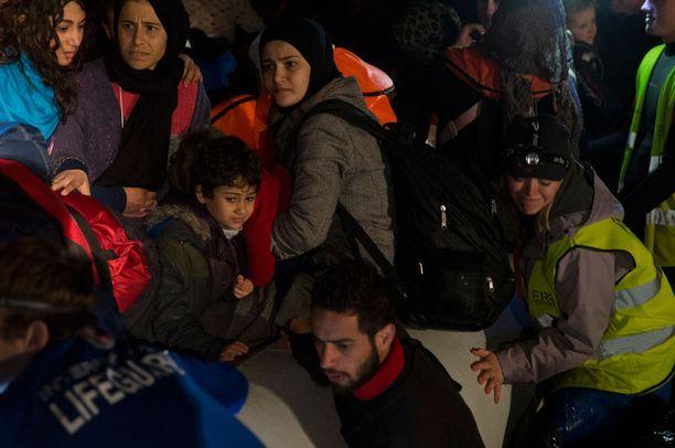 Osaa Lesboksen saarella olevista pakolaisista uhkaa palautus Turkkiin.