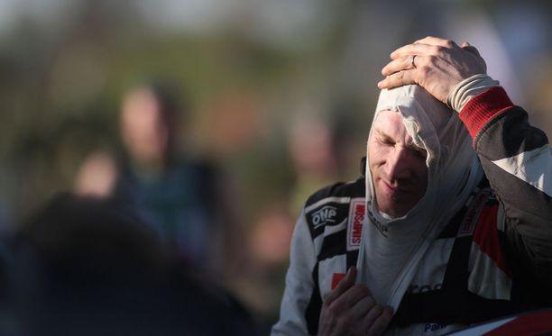 Jari-Matti Latvala joutui pettymään Saksassakin.