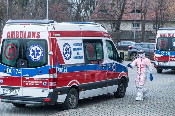 Puolan Wroclawissa  oli keskiviikkona neljä koronatapausta sairaalassa.