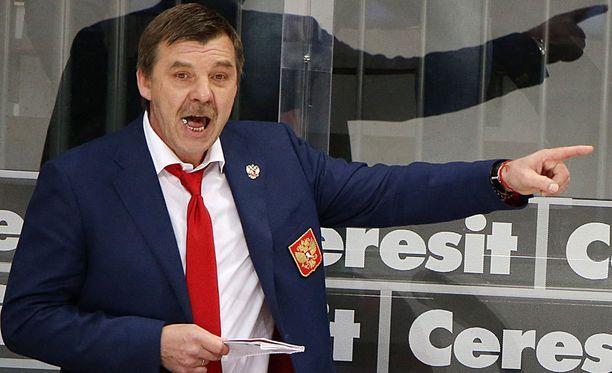 Oleg Znarok ei onnistunut johdattamaan Venäjää MM-finaaliin.