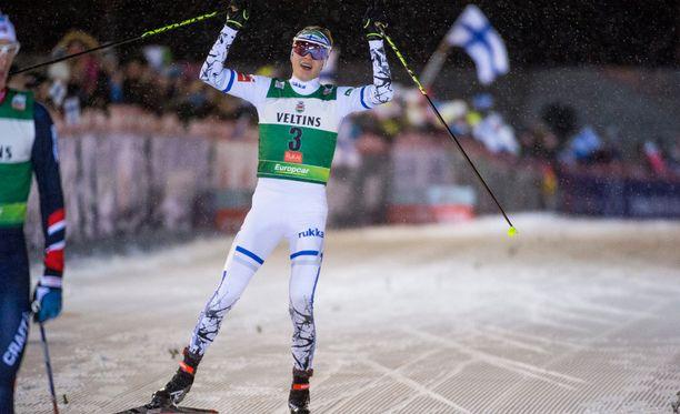 Eero Hirvonen auttoi Suomen kolmanneksi.