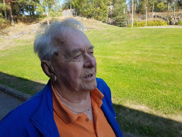 Ahti Leppänen on Jukka Virtasen ystävä jo kaverusten lapsuudesta saakka. Se jatkui sunnuntaihin asti.