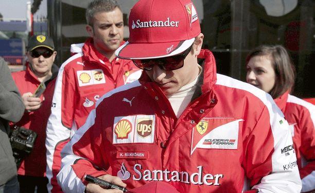 Kimi Räikkösen persoona on Ferrarin Maurizio Arrivabenelle vielä mysteeri.