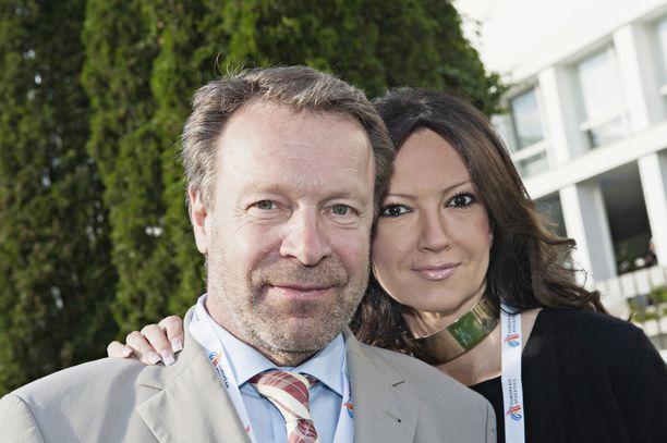 Pariskunta kuvattuna vuonna 2012.
