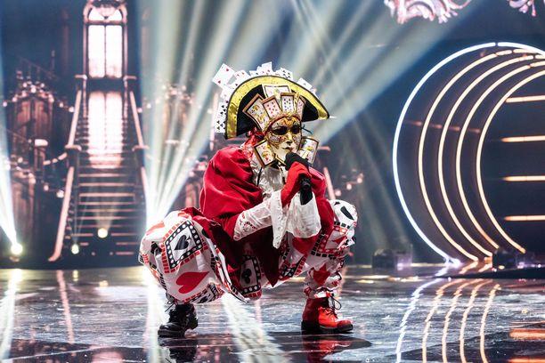 Hertan esitys Masked Singer Suomi -ohjelmassa teki vaikutuksen.