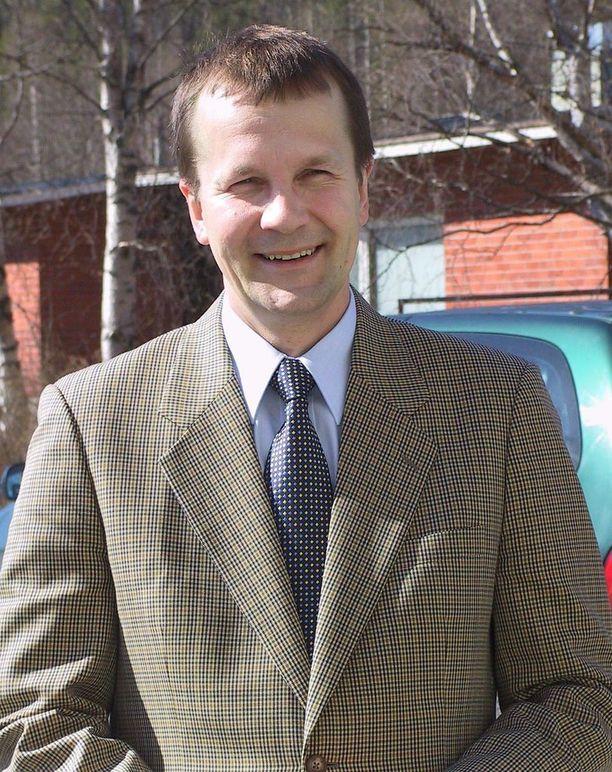 Pekka Pesonen kuvattuna 2003.