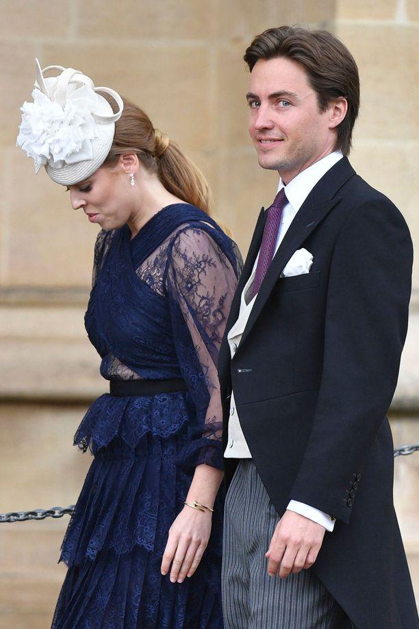 Prinsessa Beatrice ja uusi poikaystävä Edoardo Mapelli Mozzi.