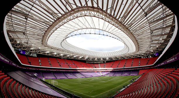 Bilbaon San Mamésilla ei pelata jalkapallon EM-kisoja tänä kesänä.