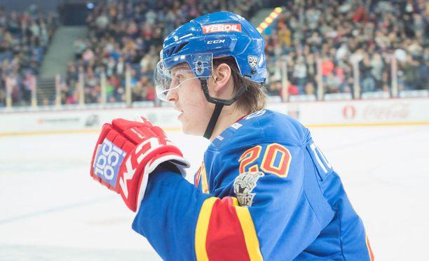 Eeli Tolvaselle povataan valoisaa tulevaisuutta NHL:ssä.