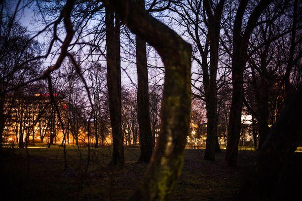 18-vuotias nainen raiskattiin Hesperian puistossa Helsingissä viime perjantaina.