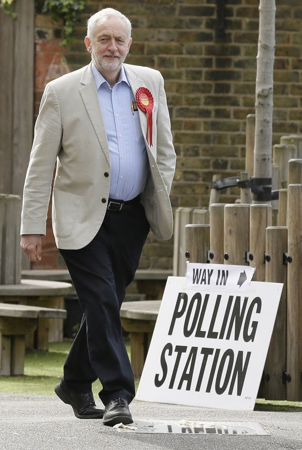 Työväenpuolueen johtaja Jeremy Corbyn on ollut viime aikoina nosteessa, mutta paikallisvaaleissa jää ilmeisesti suurvoitto saavuttamatta.