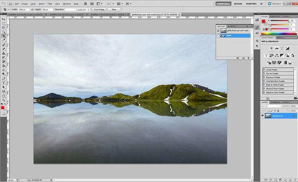 Photoshopin alkuperäinen kehittäjä työskentelee yhä Adobella.