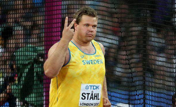 Daniel Ståhl on ylpeä MM-hopeastaan, mutta on sitä mieltä, että mittavirhe maksoi kultamitalin.