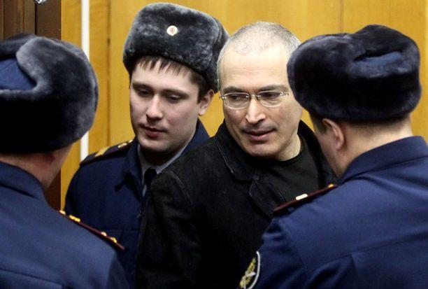 Öljy-yhtiö Jukosin ex-johtaja Mihail Hodorkovski tuomittiin uudelleen vankeuteen Moskovassa joulukuun lopussa.