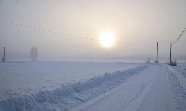 Tällaisen kuvan Tero Väätäinen nappasi 31. maaliskuuta Kurikassa.