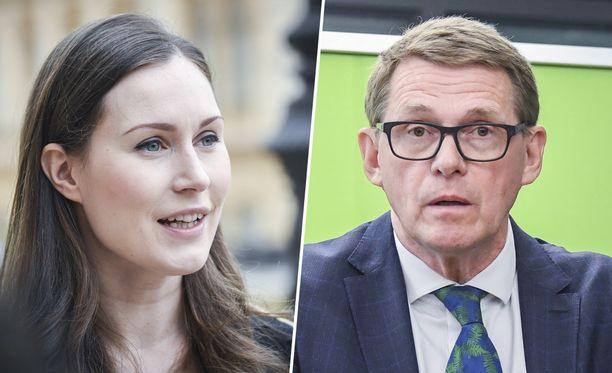 Keskusta näyttää pitävän kiinni hallitusohjelmasta, mutta sosiaalidemokraattien parissa ilmapiiri näyttää täysin erilaiselta.