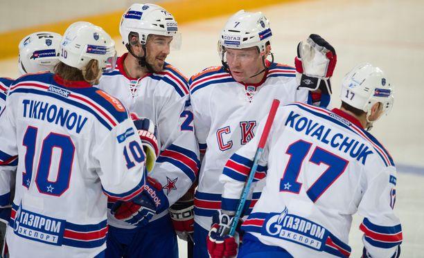 Pietarin SKA kärsi KHL-kauden ensimmäisen tappionsa.