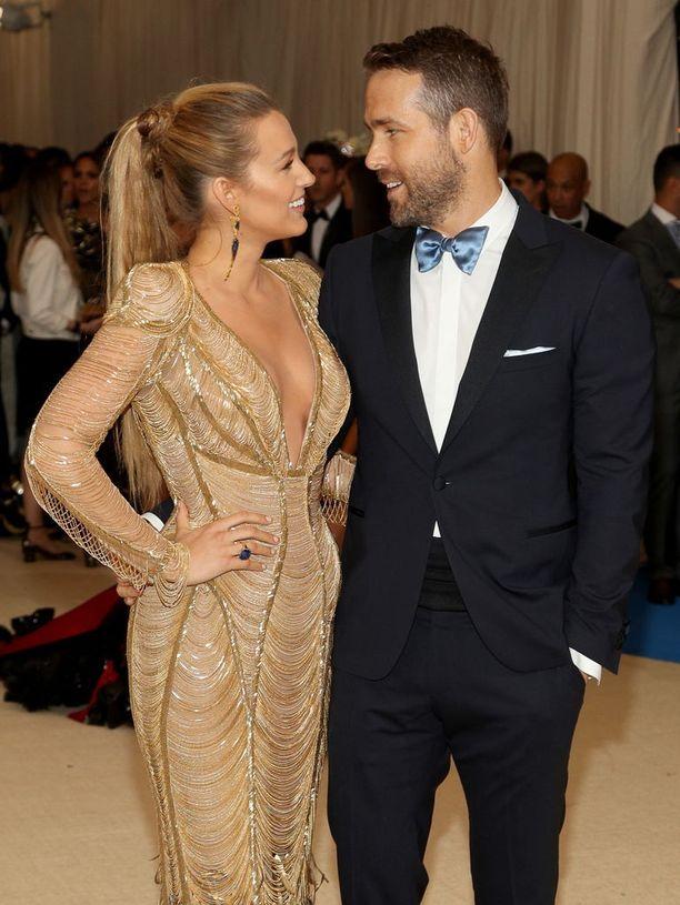 Blake Livelya ja Ryan Reynoldsia pidetään yhtenä Hollywoodin unelmapareista.