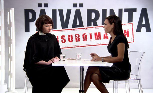 Marjaana Toiviainen saapui IL-TV:n studioon Susanne Päivärinnan vieraaksi.