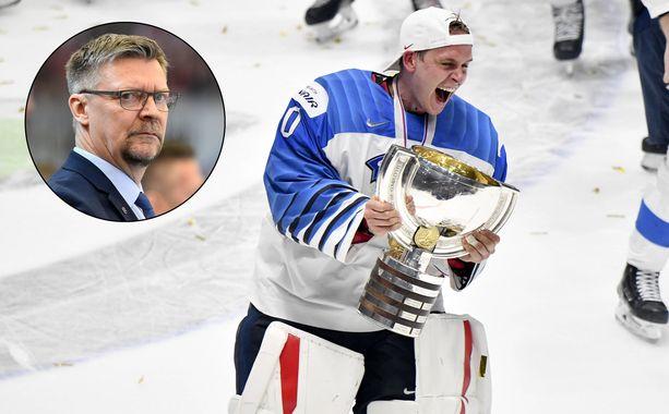 Jukka Jalonen nosti Kevin Lankisen nimen esiin puhuessaan MM-finaalista.