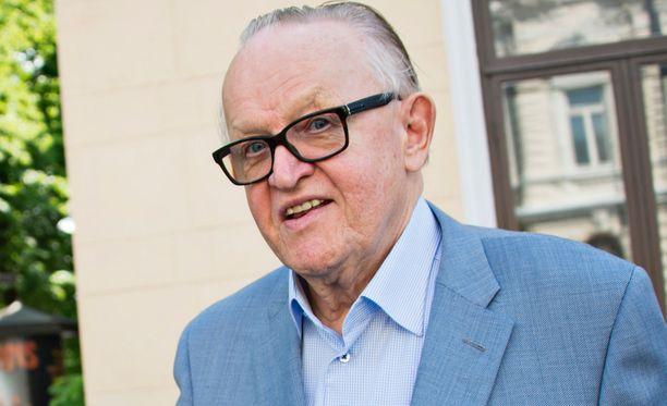 Presidentti Martti Ahtisaari.
