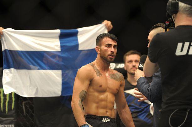 Makwan Amirkhani ottelee kesäkuussa Tukholmassa kuudennen kerran UFC:ssä.