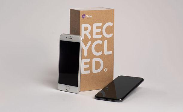 Telialta voi ostaa nyt käytettyjä puhelimia.