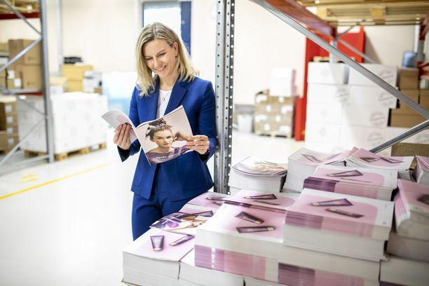 Dermoshop Oy palautti Business Finlandin tuen, koska moni muu yritys kaipasi toimitusjohtaja Suvi Markon mukaan tukea kipeämmin. Kuva syyskuulta 2019.