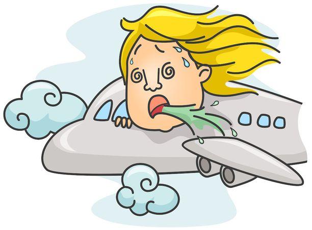 Lentokoneessa istuminen voi tehdä olon vähän ontoksi.